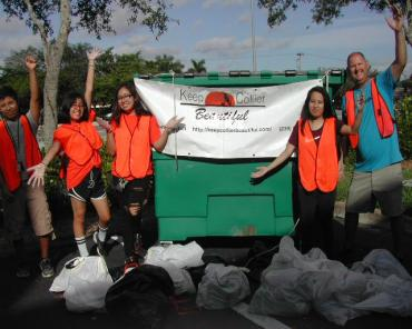 Canal Clean-up @ Eldorado